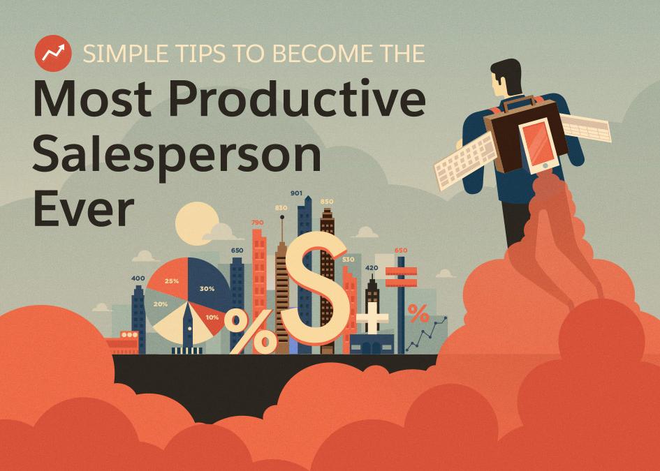 Handige tips om de meest productieve sales medewerker ooit te worden